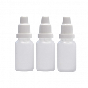 Bottle 15 ml With Dropper Set 3 Pcs
